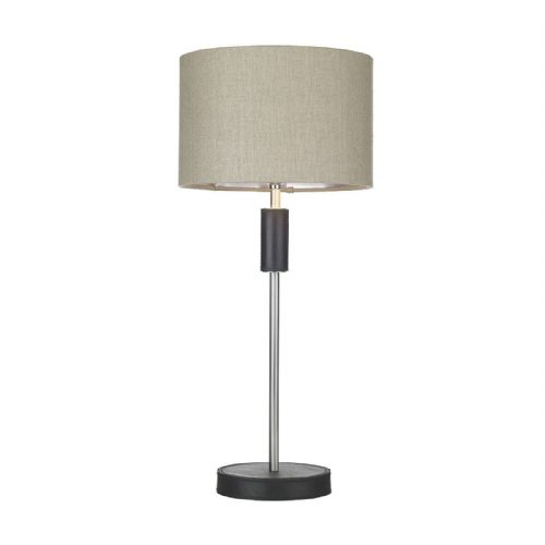 Saddler Table Lamp Black Single Segment Base Only SA4222 (Hand made, 7-10 day Delivery)